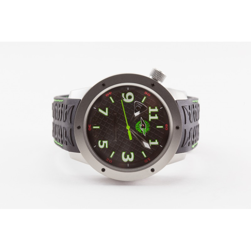 Trail Blade Edition Watch by Tire'd Watch Company - Stainless Steel